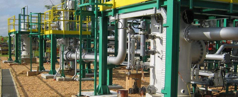 Gas Compressor System At M'boundi