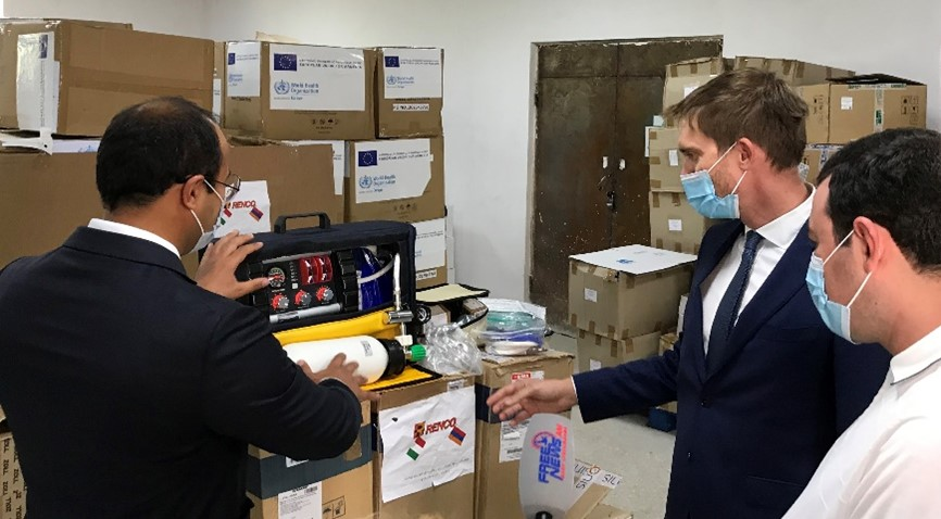 Republic Of Armenia – Donation of 23 lung ventilators for the treatment of COVID complications 19
