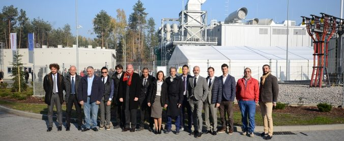 "Zielonka (Poland) – Inauguration Ceremony Of The Cold Flow Turbine Test Laboratory, Commissioned By The Company ""Polonia Aereo"""