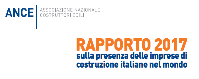 Report released by ANCE (Associazione Nazionale Costruttori Edili – National Builder/'s Association)