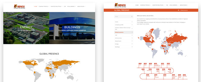 renco new website