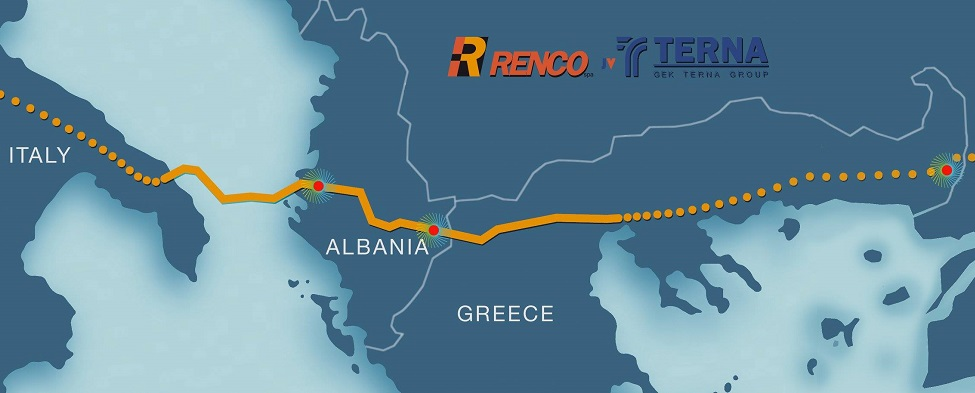 Renco / Terna jv was awarded by client TAP the Greece and Albania compressor stations EPC Contract Renco