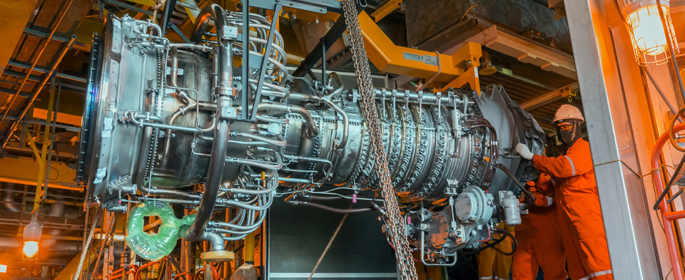 Shutdown Activities On Ansaldo Gas Turbines With Generators