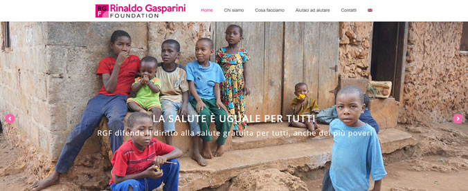 The New website of the Rinaldo Gasparini Foundation
